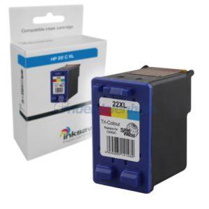 Inksave HP 22 Inktcartridge