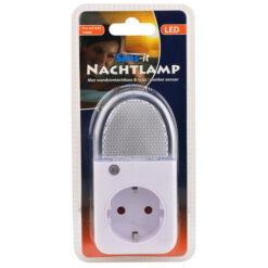 LED NACHTLAMP 7900K + WCD & LICHT DONKER SENSOR